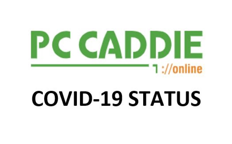 PC Caddie COVID-19 Status