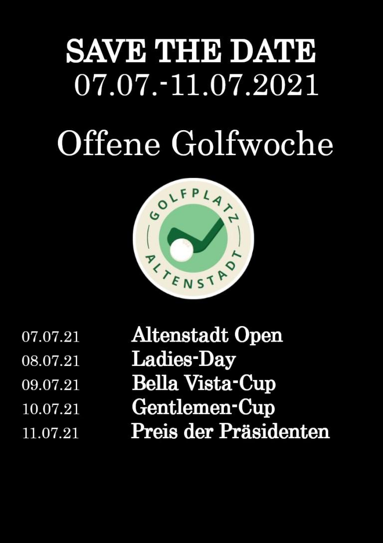 Offene Golfwoche 2021
